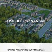 Osiedle Poznańskie - Nowe mieszkania Poznań Tanie mieszkania rynek pierwotny Poznań